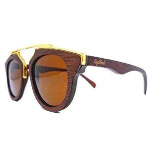 Cherry Wood Full Frame Polarized Sunglasses